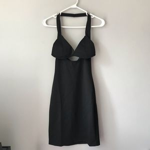 NWT Rehab little black cut out dress